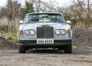 1979 Rolls-Royce Corniche Convertible SOLD by Auction