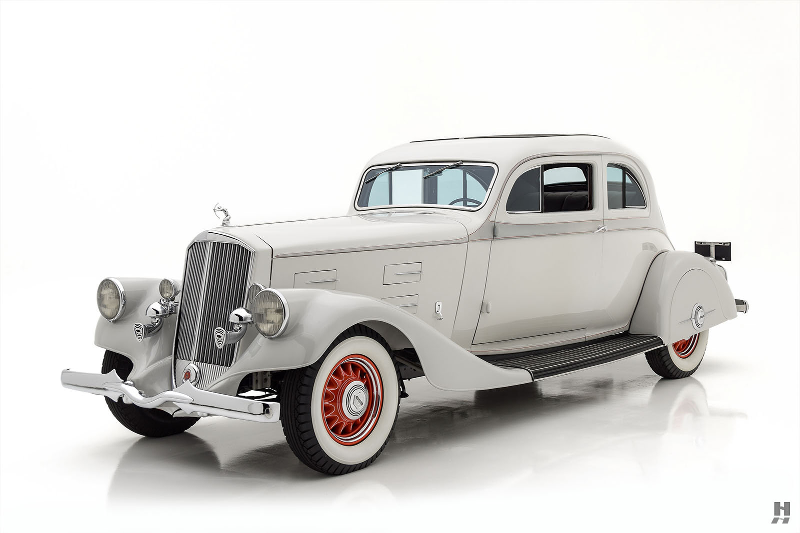 1934 PIERCE ARROW MODEL 840A SILVER ARROW COUPE For Sale (picture 1 of 6)