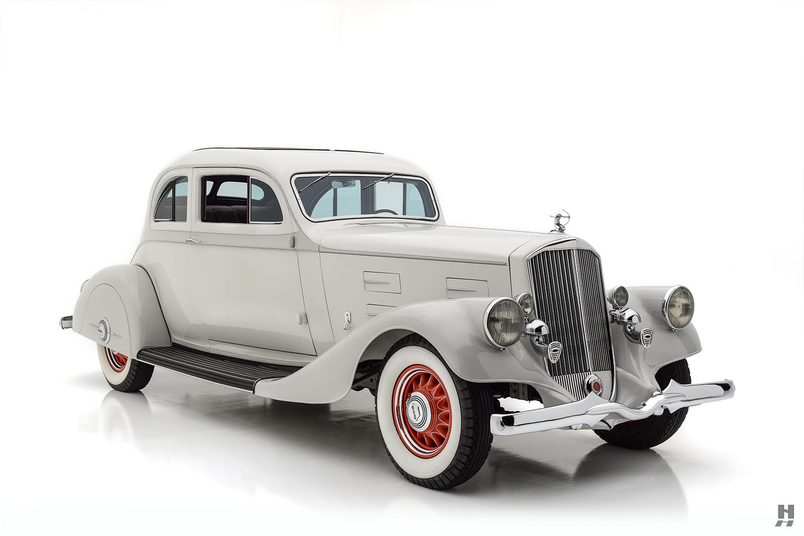 1934 PIERCE ARROW MODEL 840A SILVER ARROW COUPE For Sale (picture 2 of 6)
