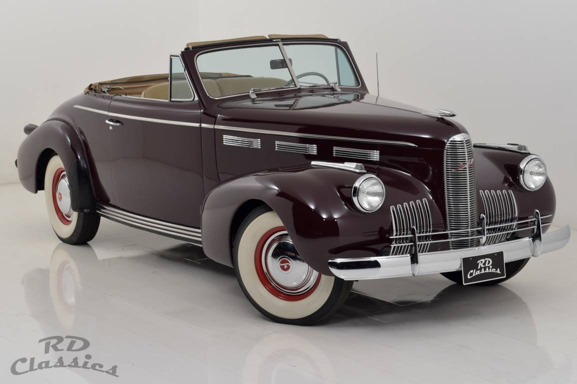 1940 LaSalle Series 50 Convertible For Sale (picture 1 of 6)