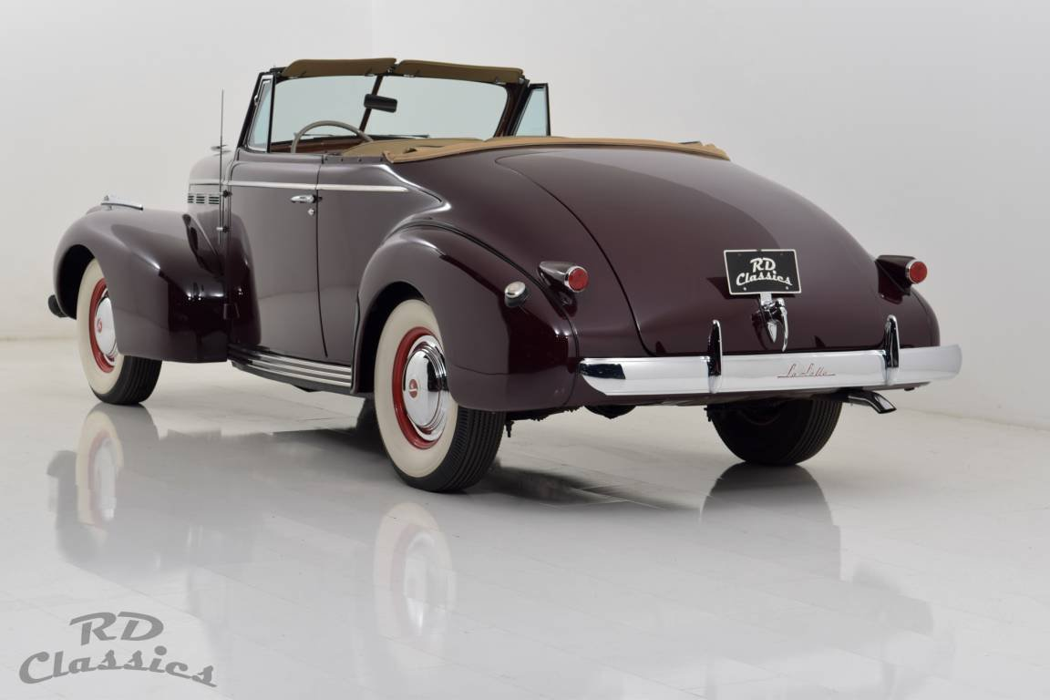 1940 LaSalle Series 50 Convertible For Sale (picture 2 of 6)