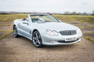 2003 Mercedes-Benz SL500 - 47K Miles / FSH / Immaculate SOLD