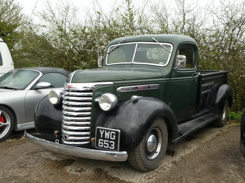 1938 Gmc 12 Ton Pickup Truck Sold Car And Classic