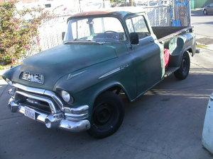 1959 1955 GMC ITS IN THE UK DUTIES PAID  ON THE BUTTON DRIVER  For Sale