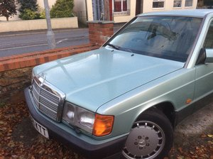 Mercedes Benz 190 E 1991 very low mileage