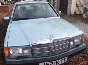 Mercedes Benz 190E 1991 one lady owner low mileage For Sale