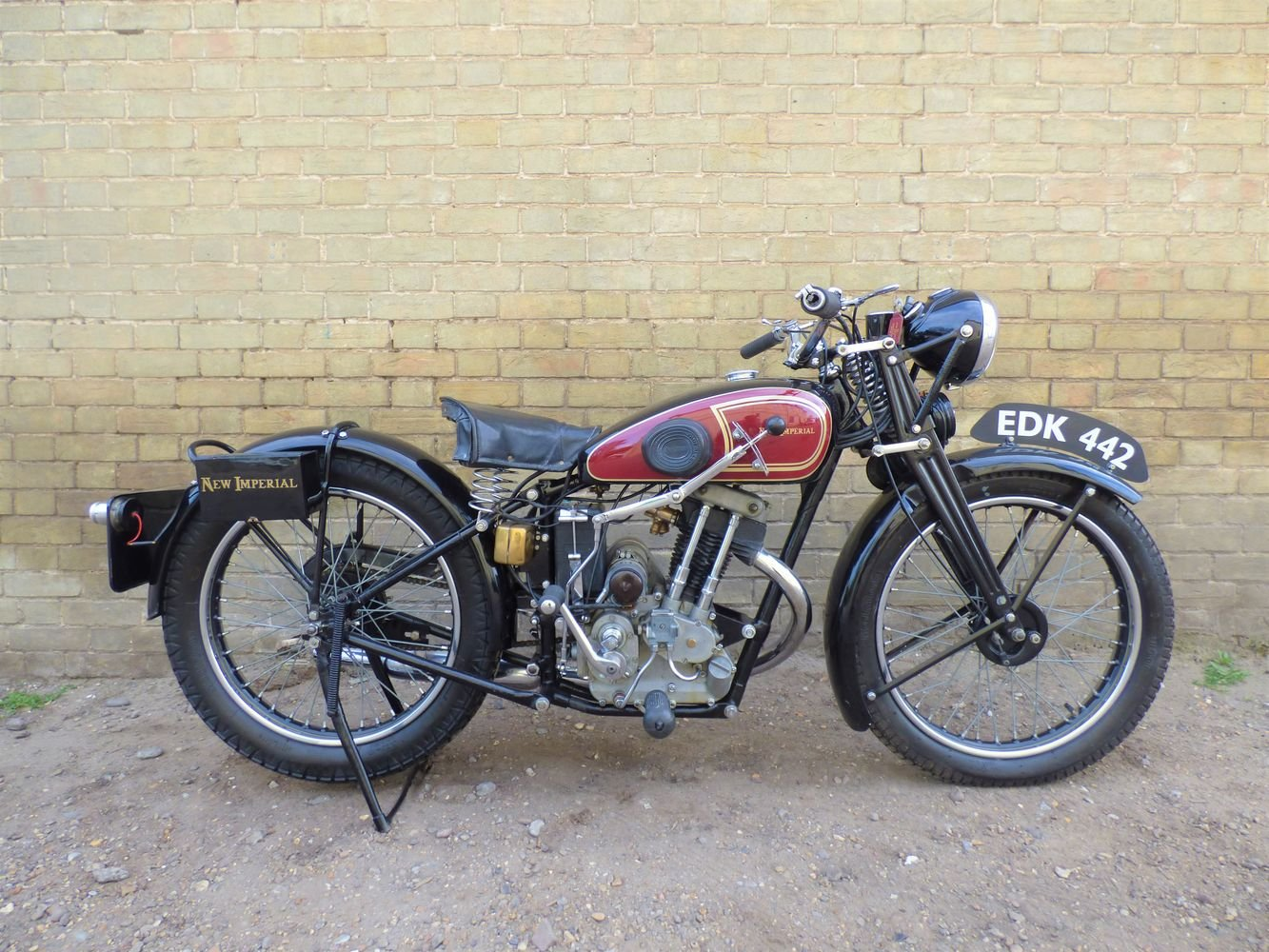 1938 New Imperial Model 23 Unit Minor 150cc SOLD (picture 1 of 6)