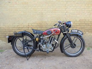 1938 New Imperial Model 23 Unit Minor 150cc SOLD