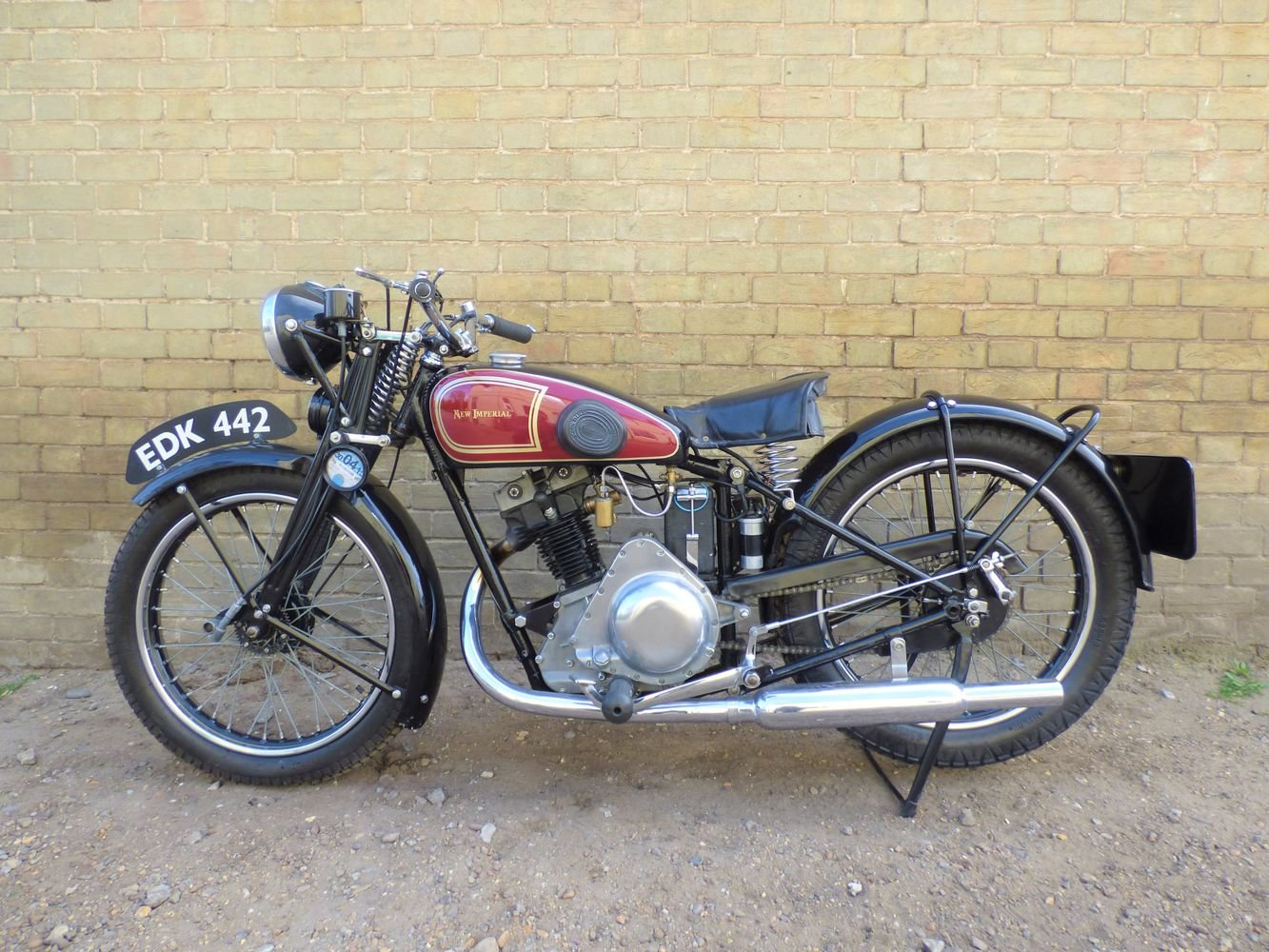 1938 New Imperial Model 23 Unit Minor 150cc SOLD (picture 2 of 6)