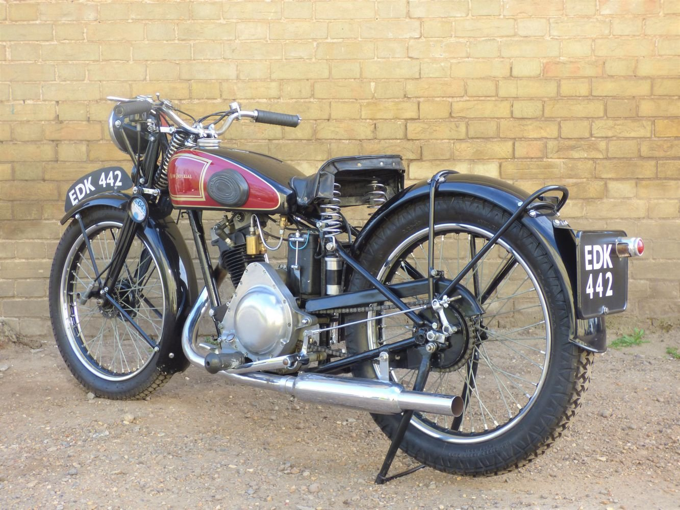 1938 New Imperial Model 23 Unit Minor 150cc SOLD (picture 5 of 6)