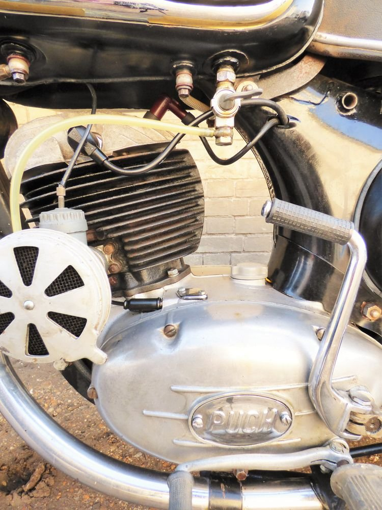 1952 Puch SGS 250cc SOLD (picture 3 of 6)
