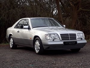 1994 BEAUIFUL MERCEDES E320 COUPE - RARE SPECIFICATION 92K MILES SOLD