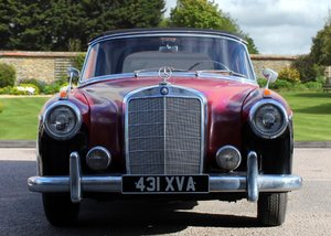1959 Mercedes-Benz 220SE Convertible SOLD by Auction