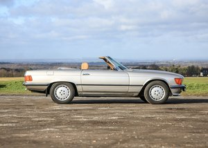 1980 Mercedes-Benz 350 SL Roadster SOLD by Auction