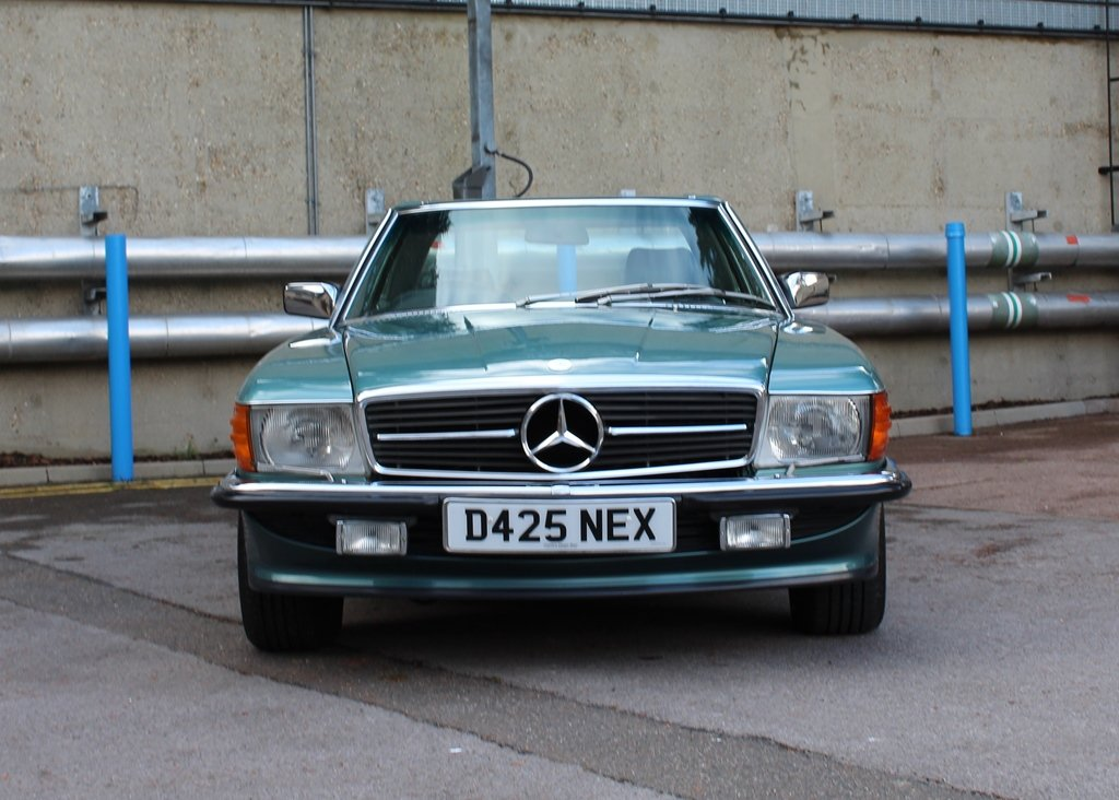 1987 Mercedes-Benz 300 SL Roadster SOLD by Auction (picture 1 of 6)