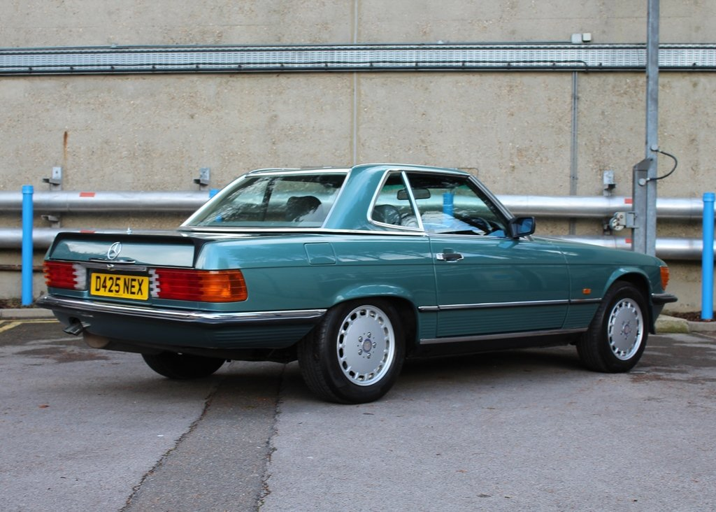 1987 Mercedes-Benz 300 SL Roadster SOLD by Auction (picture 5 of 6)