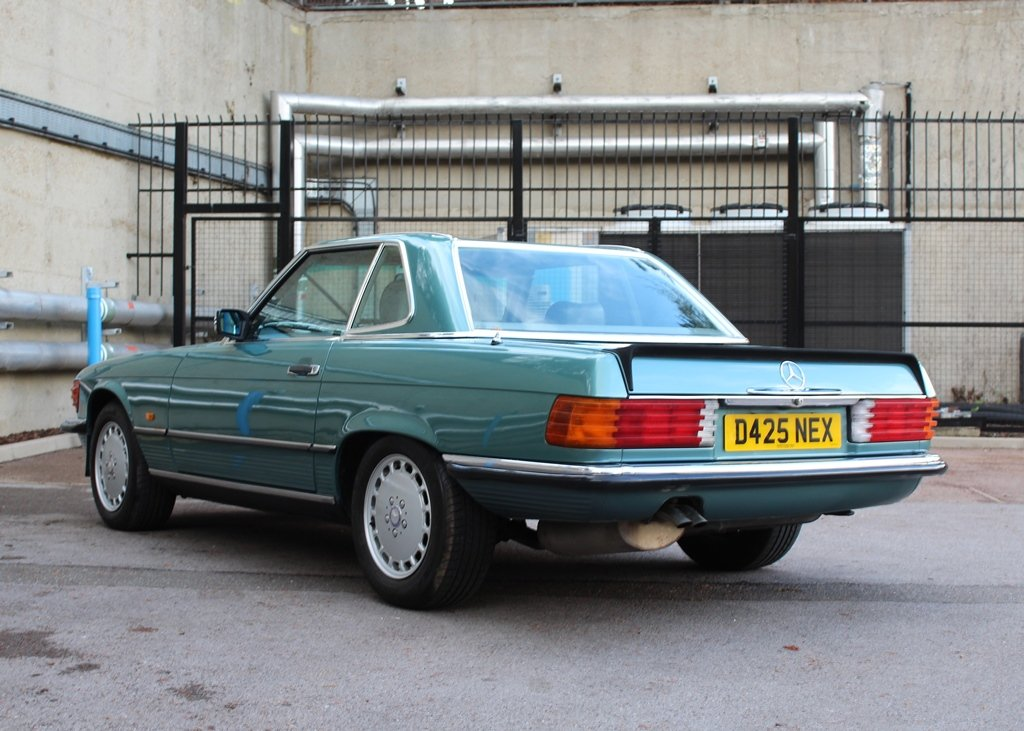 1987 Mercedes-Benz 300 SL Roadster SOLD by Auction (picture 6 of 6)