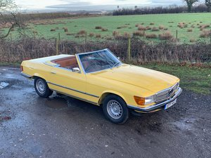 1973 Mercedes 350 SL 4 Seater Convertible For Sale