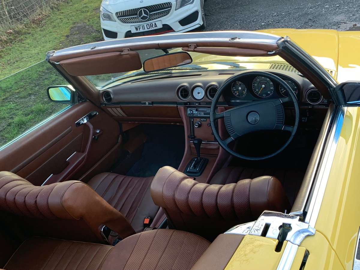 1973 Mercedes 350 SL 4 Seater Convertible For Sale (picture 5 of 6)