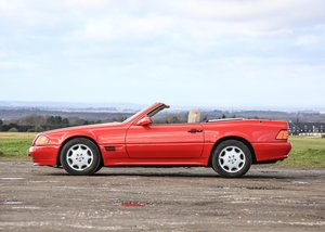 1992 Mercedes-Benz 300 SL-24V Roadster SOLD by Auction