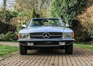 1979 Mercedes-Benz 350 SL Roadster SOLD by Auction