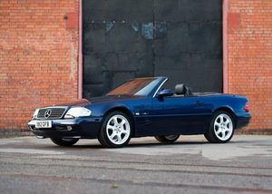 2000 Mercedes-Benz 320 SL Roadster Designo Edition SOLD by Auction