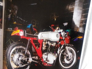 1977 cafe racer Hanson replica,honda For Sale