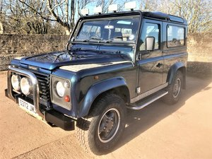 Picture of original 1998 Defender 90 50th anniversary+2 owners from new SOLD