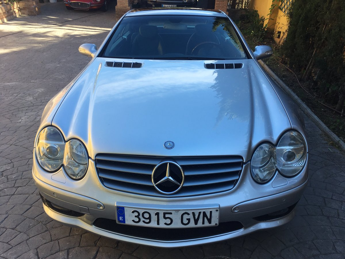 2003 LHD Mercedes Benz SL 500 In Spain  For Sale (picture 2 of 6)