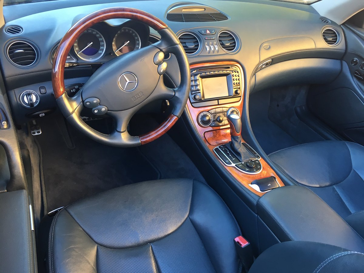 2003 LHD Mercedes Benz SL 500 In Spain  For Sale (picture 5 of 6)
