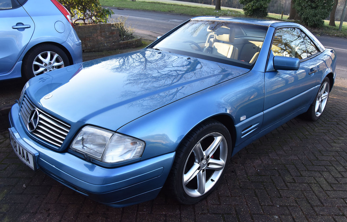 1997 SL320 - R129 Convertible + Hard top - 3.2l For Sale (picture 1 of 6)