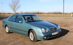 2000 Mercedes-Benz E240 2.6 Auto Elegance - Less Than 10k Miles