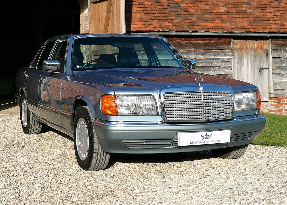 1987 Mercedes-Benz 300SE as featured in Mercedes Enthusiast  SOLD (picture 1 of 6)