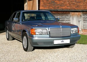 1987 Mercedes-Benz 300SE as featured in Mercedes Enthusiast  SOLD