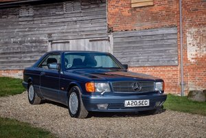 1990 Mercedes-Benz 420SEC as featured in MB Enthusiast magazine SOLD