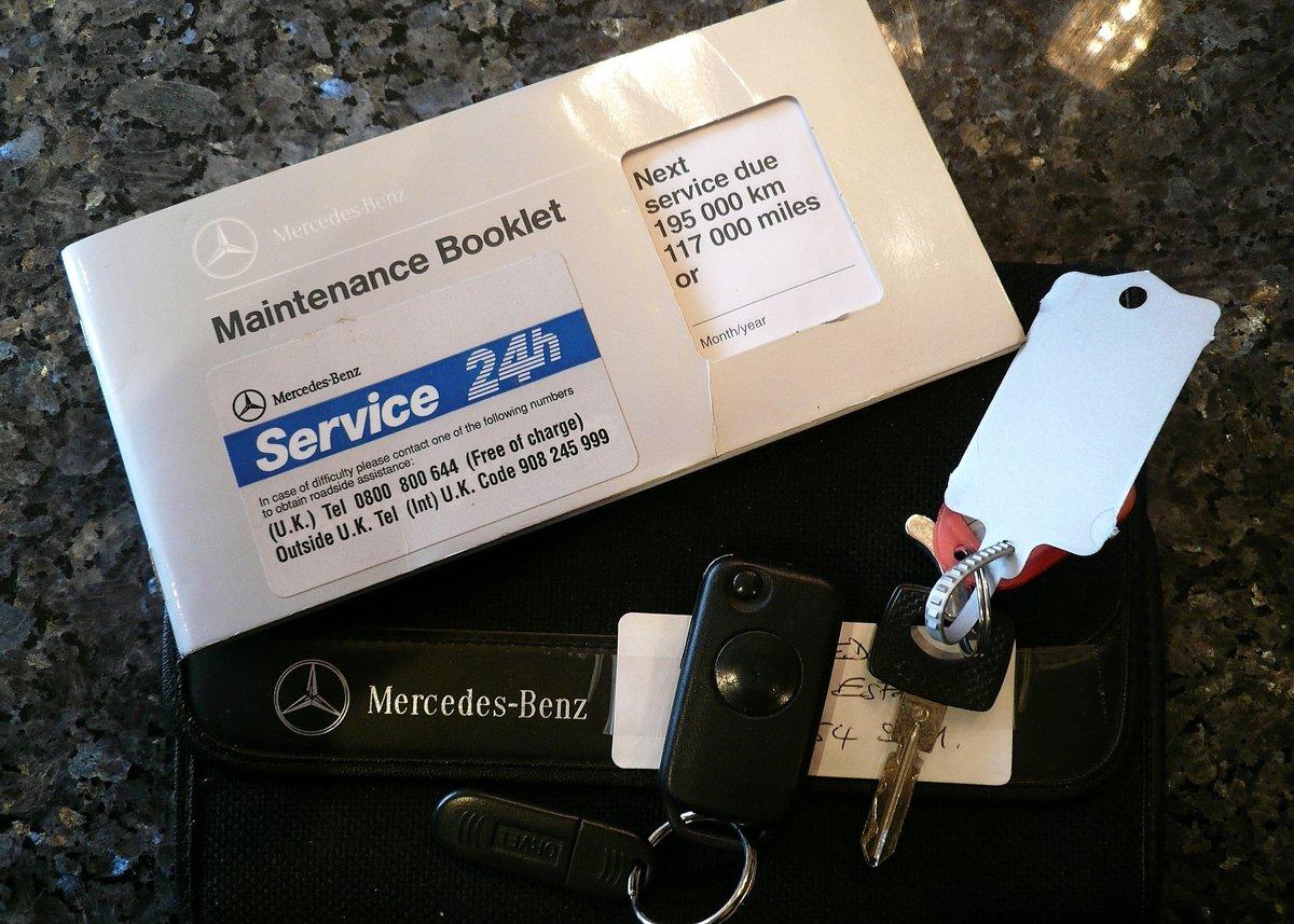 1996 Mercedes-Benz E320 W124 Sportline Estate - Low Mileage & FSH SOLD (picture 6 of 6)