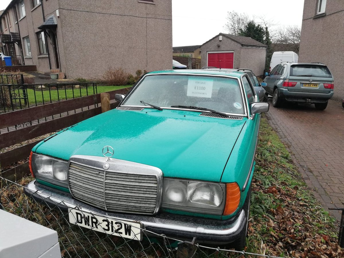 Rare 1981 Mercedes 230 CE Classic W123 COUPE  For Sale (picture 1 of 6)