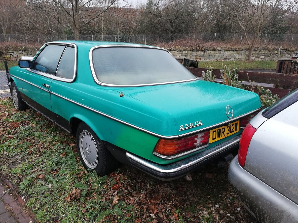 Rare 1981 Mercedes 230 CE Classic W123 COUPE  For Sale (picture 2 of 6)
