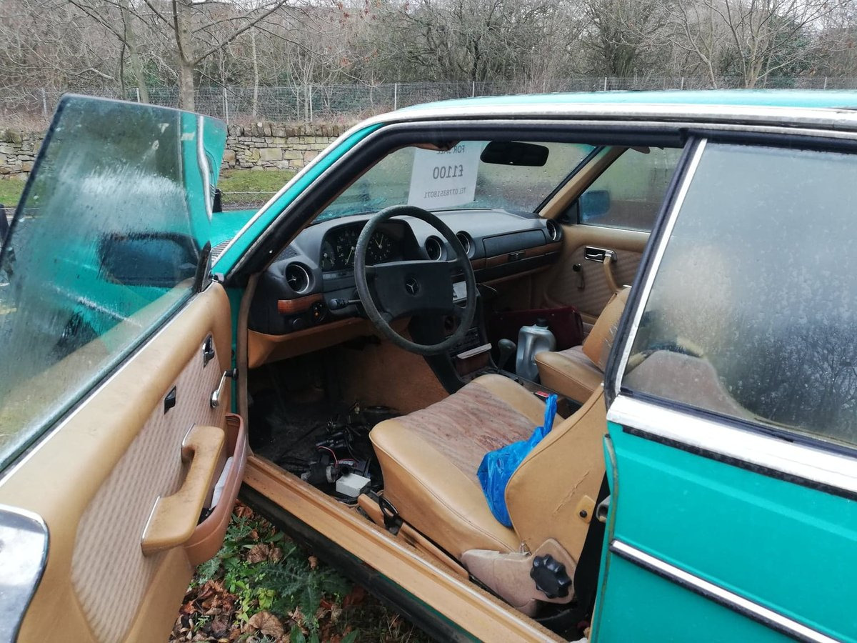Rare 1981 Mercedes 230 CE Classic W123 COUPE  For Sale (picture 4 of 6)