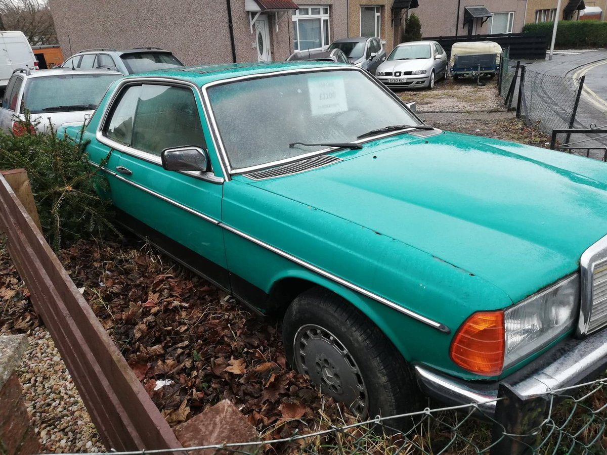 Rare 1981 Mercedes 230 CE Classic W123 COUPE  For Sale (picture 6 of 6)