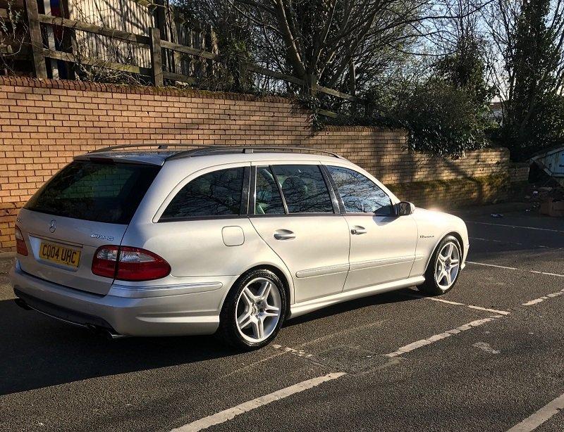 2004 Mercedes E55k Estate (s211/w211) For Sale (picture 3 of 4)