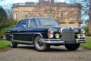 1969 W111 Mercedes-Benz 280SE Coupe