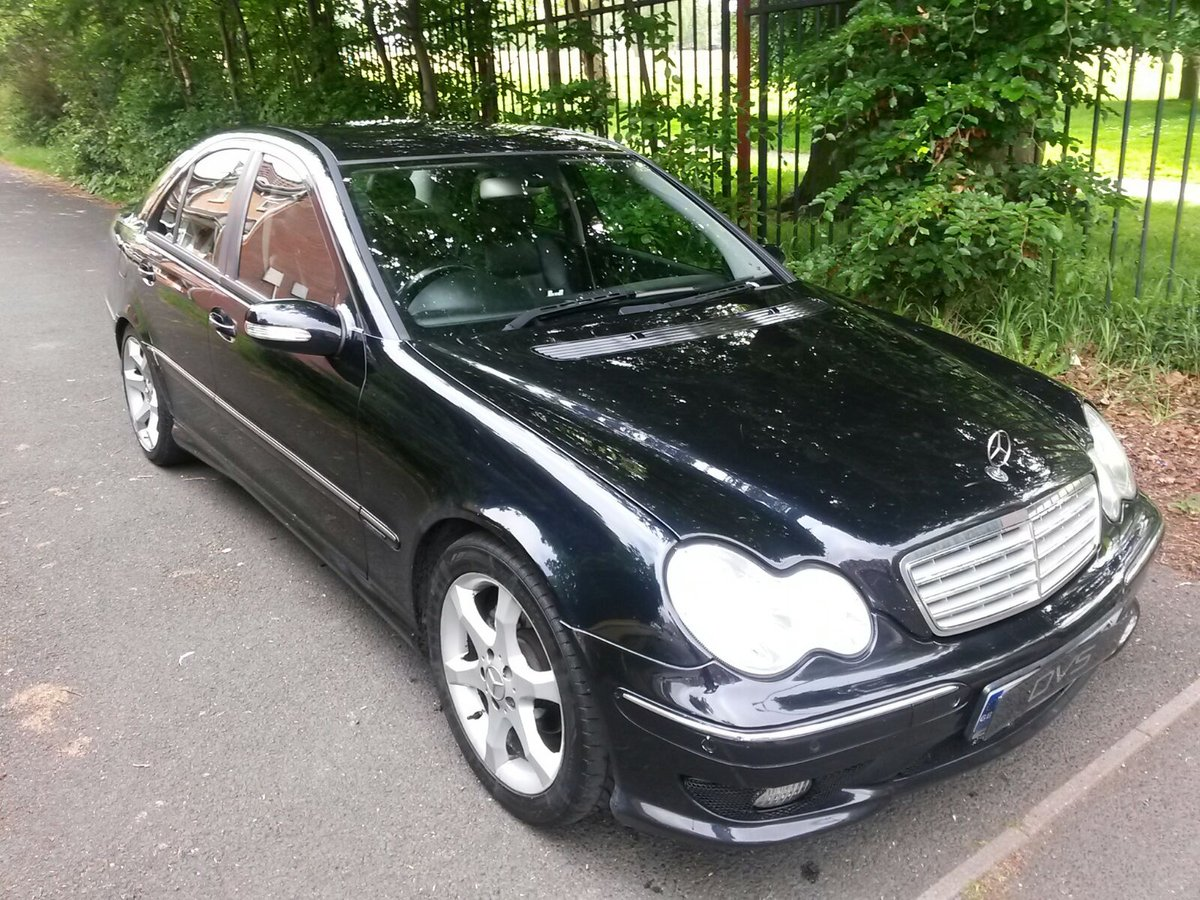 2005 Mercedes C200k Sport Edition Auto **Factory AMG Pack** SOLD (picture 1 of 6)