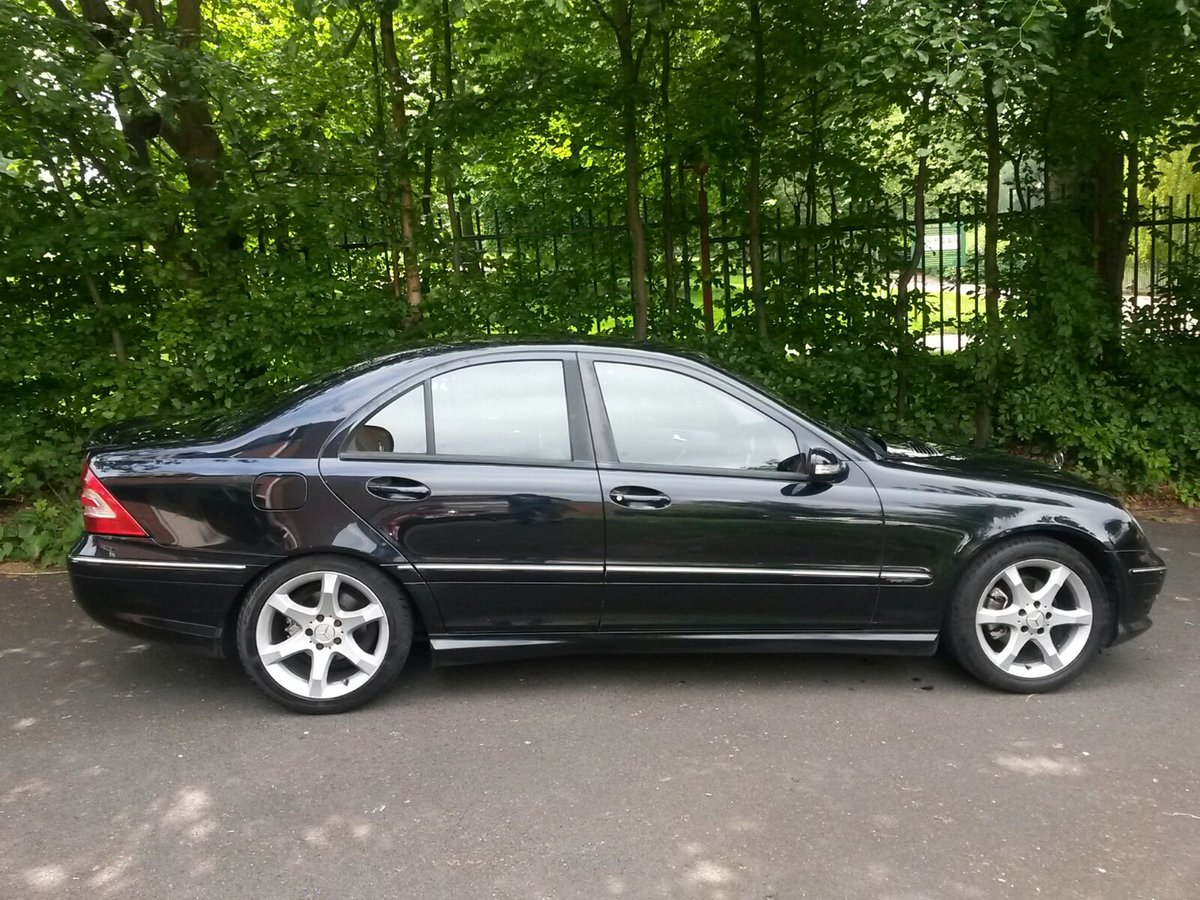 2005 Mercedes C200k Sport Edition Auto **Factory AMG Pack** SOLD (picture 2 of 6)
