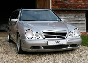 2000 Mercedes-Benz E320CDI - rare AMG factory specification