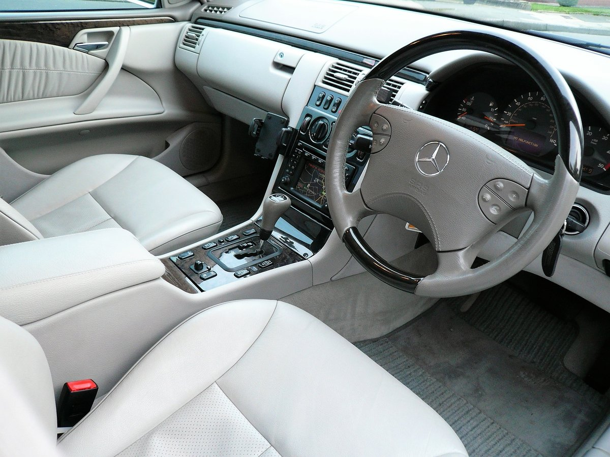 2000 Mercedes-Benz E320CDI - rare AMG factory specification SOLD (picture 2 of 6)