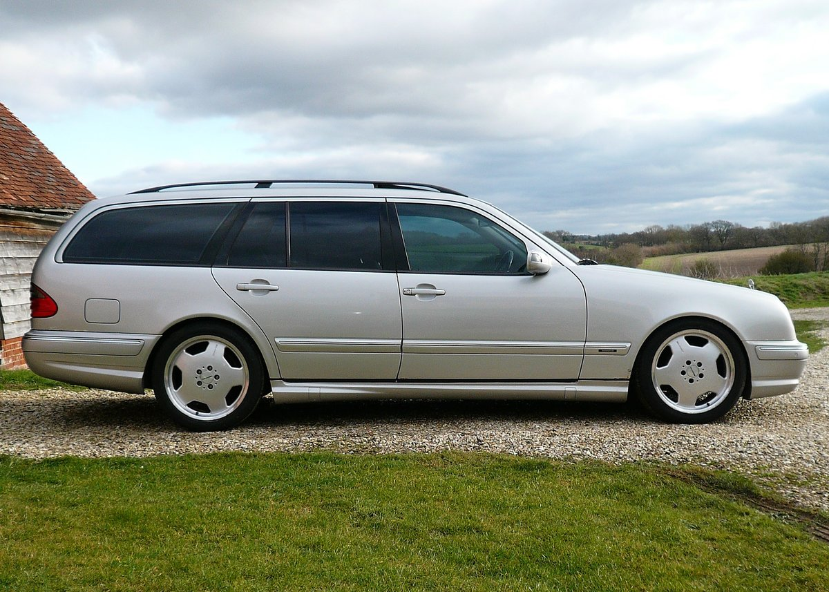 2000 Mercedes-Benz E320CDI - rare AMG factory specification SOLD (picture 4 of 6)
