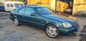 1995 Mercedes-benz s500 c140 5.0 v8 (cl500 w140) For Sale