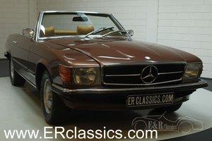 Mercedes-Benz 350SL 1972 Milanbraun Metallic For Sale