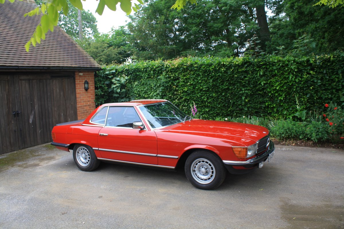 Mercedes 280 SL Auto, 1983. Stunning low mileage example. SOLD (picture 1 of 6)